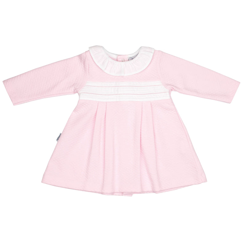 Babidu Pink Quilted Dress | Millie and John