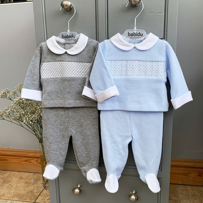 Babidu Smocked Top & Leggings | Millie and John