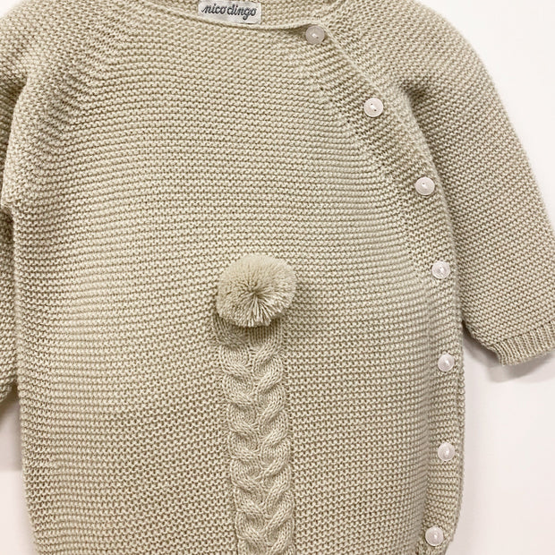 Nico Dingo Stone Knitted Pom Pom Shortie | Millie and John