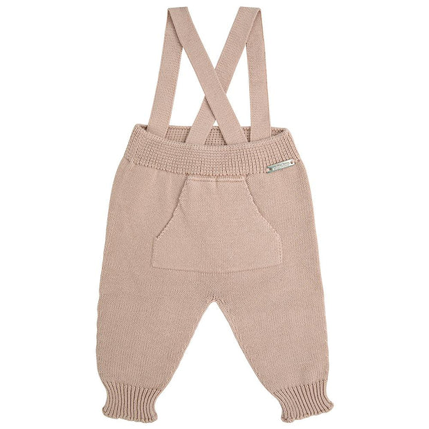 Condor Stone Knitted Trousers with Braces | Millie and John