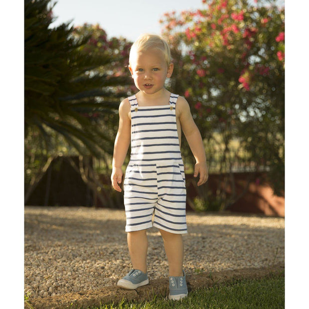 Babidu Striped Dungarees | Millie and John