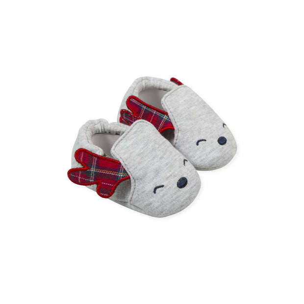 Tutto Piccolo Tartan Reindeer Booties | Millie and John