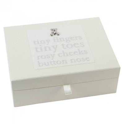 "Bambino ""Tiny Toes"" Keepsake Box 