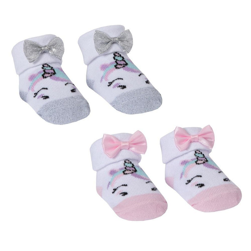 Baby Town Unicorn Gift Socks | Millie and John