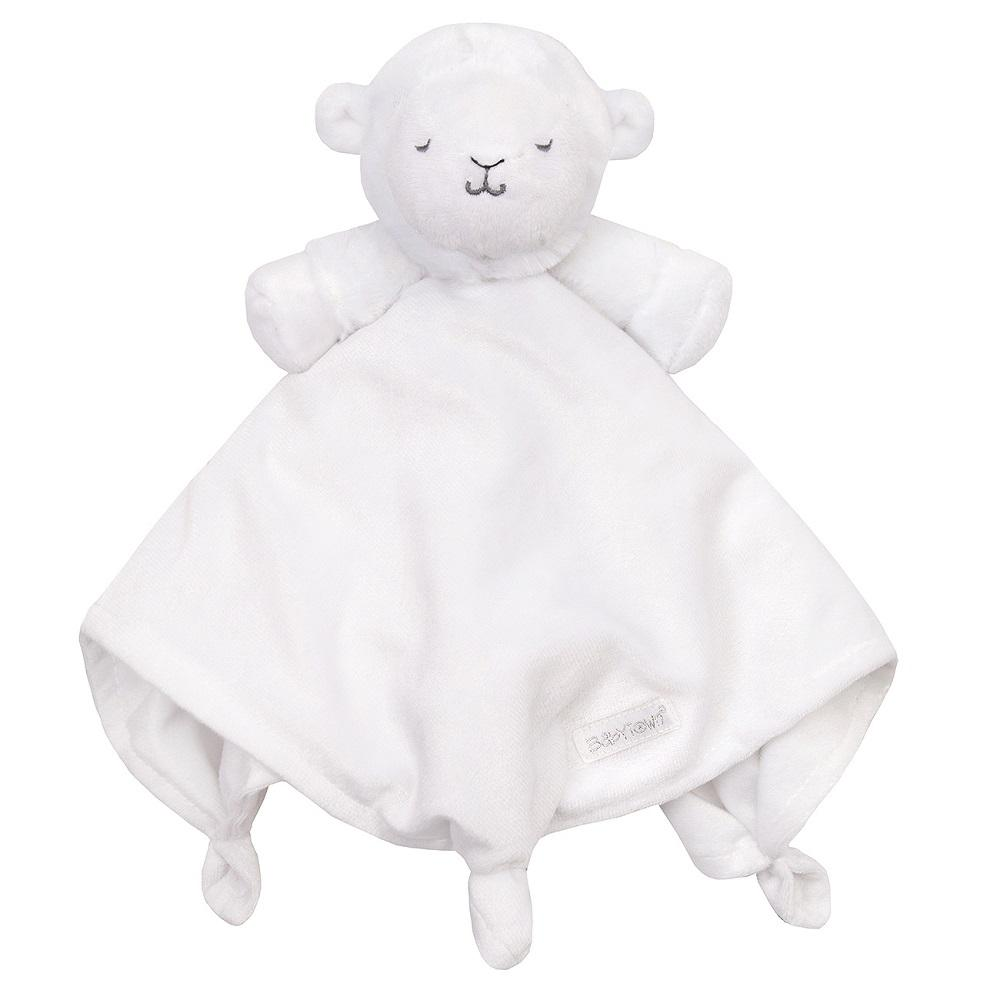 Baby Town White Lamb Comforter | Millie and John