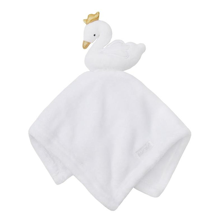 Baby Town White Swan Comforter | Millie and John
