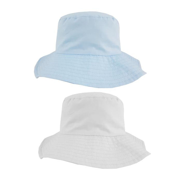 Pesci Kids Wide Brim Sun Hat | Millie and John