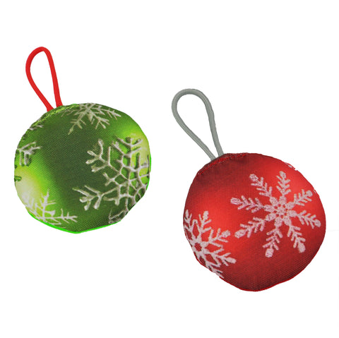 Merry Chrunch-mas Ornaments Dog Toy