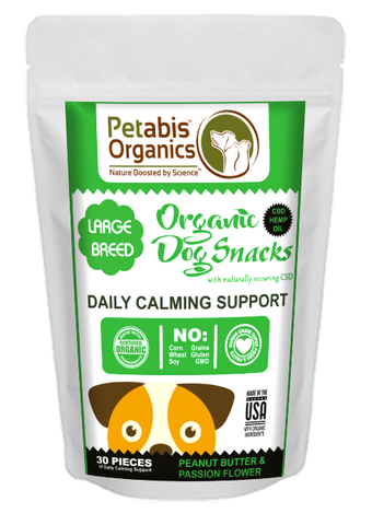 Petabis - LARGE BREED Calming CBD Dog Treats