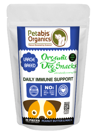 Petabis - LARGE BREED Immune Support Dog Treats