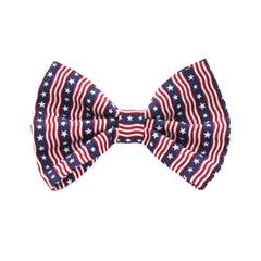 Unikue Kreations - Stars & Stripes Dog Bow Tie
