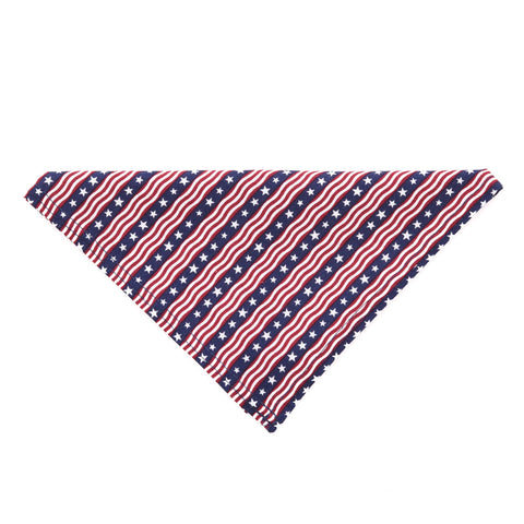Unikue Kreations - Stars & Stripes Dog Bandana