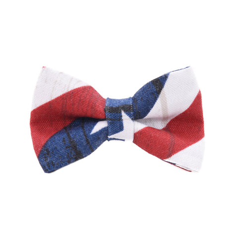 Unikue Kreations - American Flag Dog Bow Tie