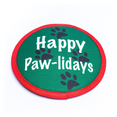 American Dog - Happy Paw-lidays Flyer