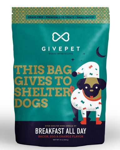 GivePet - Breakfast All Day Dog Treats