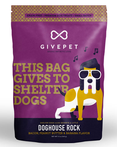 GivePet - Doghouse Rock Dog Treats