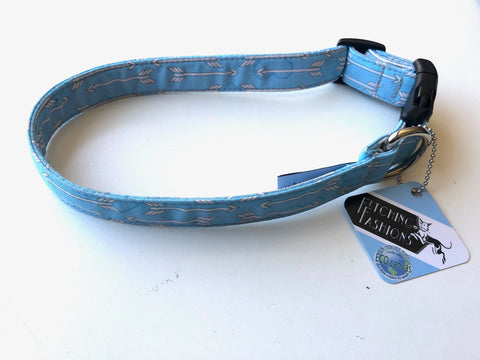 Baby Blue Dog Collar - LARGE