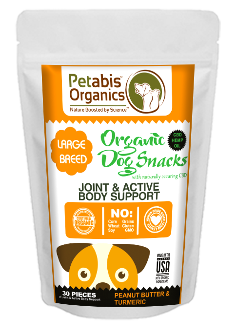 Petabis - LARGE BREED Joint Support Dog Treats
