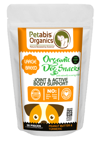Petabis - LARGE BREED Joint Support CBD Dog Treats