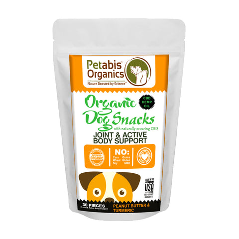 Petabis - Joint Support Hemp Dog Treats