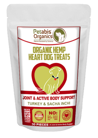 Petabis - Joint Support Hemp Hearts Dog Treats