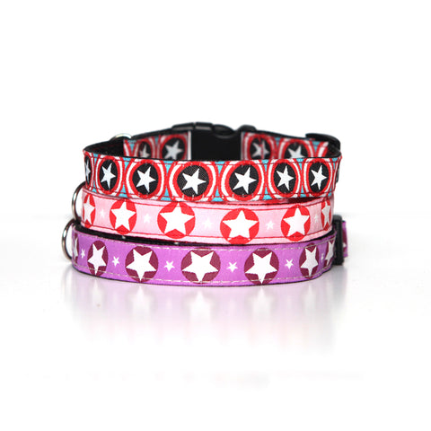 Pink Star Collar Collection