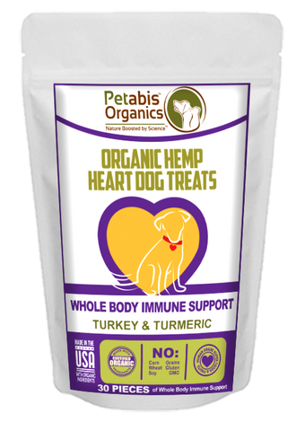Petabis - Immune Support Hemp Hearts Dog Treats