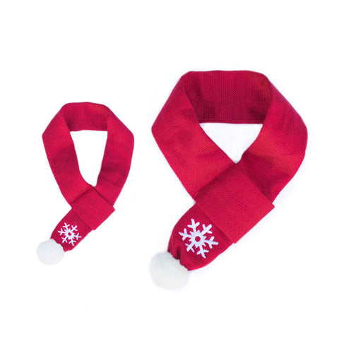 ZippyPaws -  Snowflake Dog Scarf
