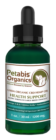 Petabis - 1200 MG Organic Hemp Oil