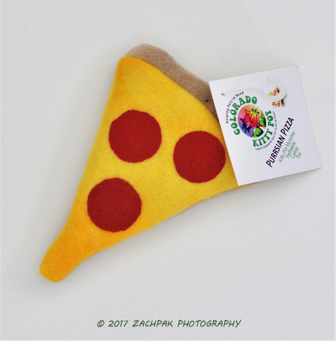 Kitty Pot Munchies - Purrrsian Pizza toy