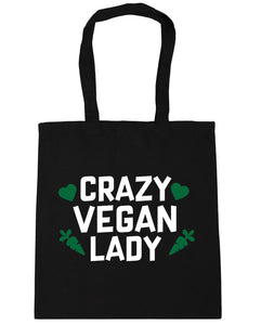 Crazy Vegan Tote Bag