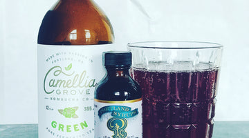 Marionberry Green Tea Soda