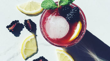 Marionberry Whiskey Smash
