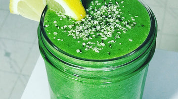 Ginger Ale Green Smoothie