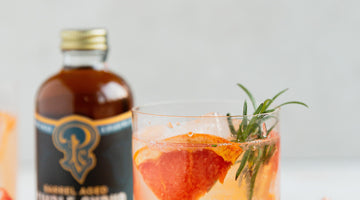 Caramelized Grapefruit Mocktail