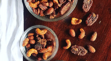 Vanilla Spiced Rooibos Mixed Nuts