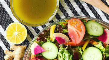 Meyer Lemon Ginger Vinaigrette