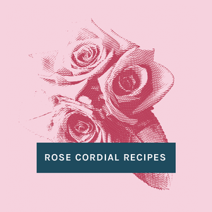 Portland Syrups Rose Cordial Recipes