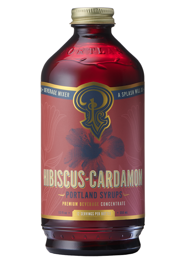 Hibiscus Cardamom Syrup