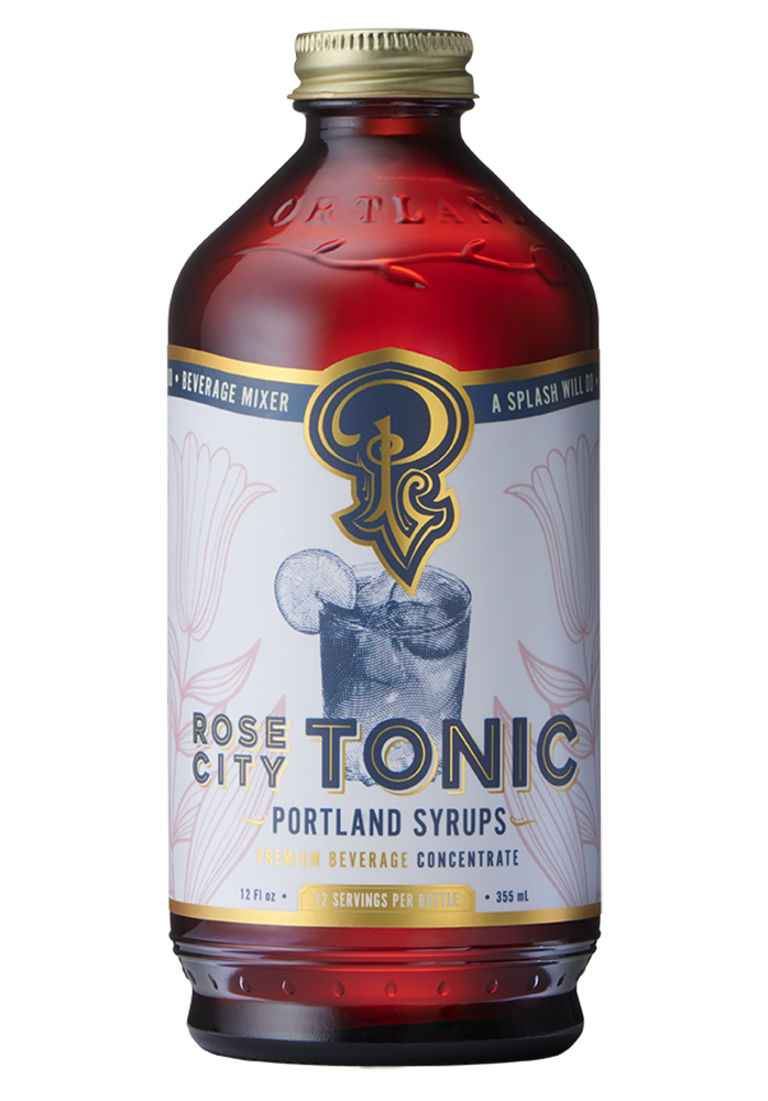 Rose City Tonic Concentrate with Quinine