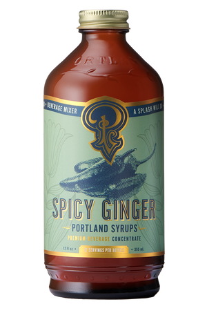 Spicy Ginger Syrup