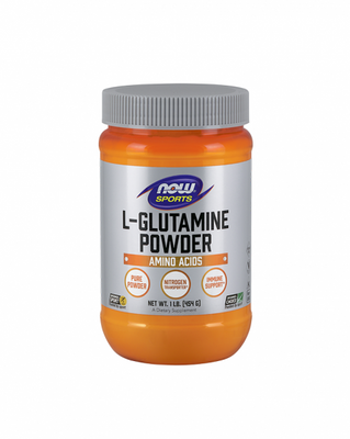 NOW Sports L-Glutamine Powder 454g - Celeiro da Saúde Lda