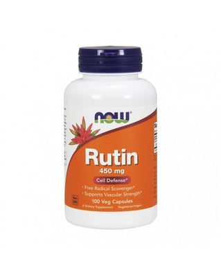 NOW Rutin 450mg 100 Cápsulas