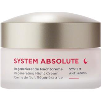 System Absolute Regenerating Night Cream 50ml - Annemarie Borlind - Crisdietética