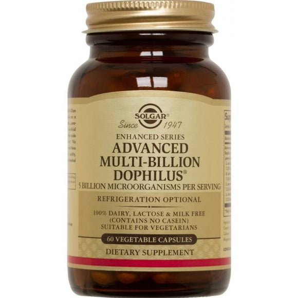 Advanced Multi-Billion Dophilus 60 cápsulas - Solgar