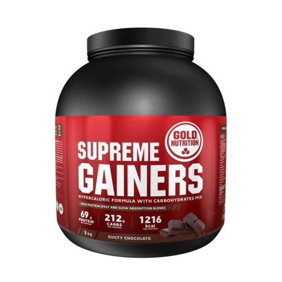 Supreme Gainers 3kg Chocolate - GoldNutrition