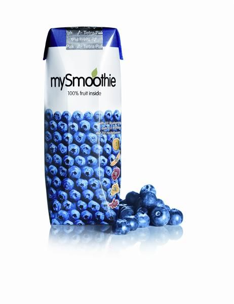 Smoothie de Mirtilo 250ml - MySmoothie