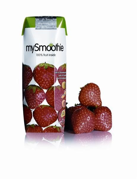 Smoothie de Morango 250ml - MySmoothie