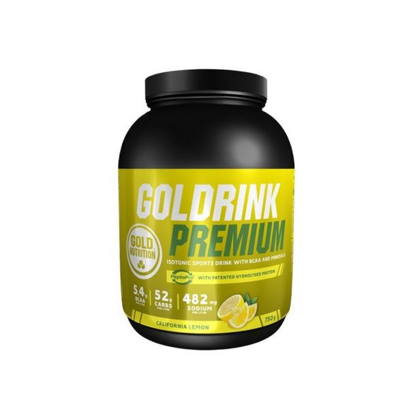 Gold Drink Premium Lemon - 750g - GoldNutrition