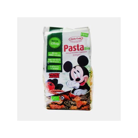 Massa Tricolor Disney Mickey Bio 300g - Dalla Costa - Crisdietética